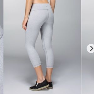 Lululemon Heathered Gray Leggings